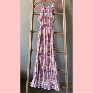 dRA Maxi Dress with Cut-Outs